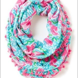 Lilly Pulitzer lobstah roll scarf
